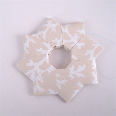 Origami Wreath Ornament - origami wreath ornaments wallpaper