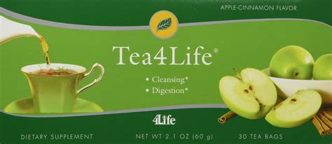 Tea4life fibre system plus 30 packets box by 4life nutrition and wellness products