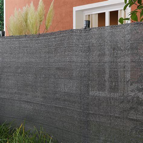 Sichtschutz Fenster Hornbach by Gardol Tennisplatz Sichtschutz 500 X 80 Cm Anthrazit