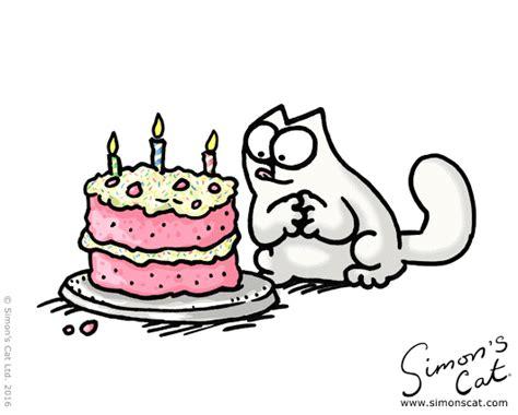 Birthdays Simon S Cat Guide To simons cat birthday happy birthday simon s cat