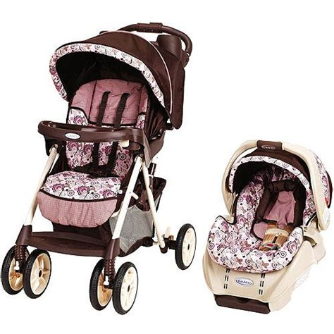 purple and gray stroller and carseat cars walmart and strollers on