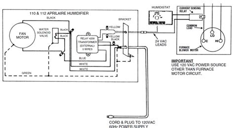 wiring diagram for aprilaire 700 aprilaire 600 manual wiring efcaviation