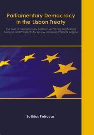 keeper of the mere treaty books parliamentary democracy in the lisbon treaty the of