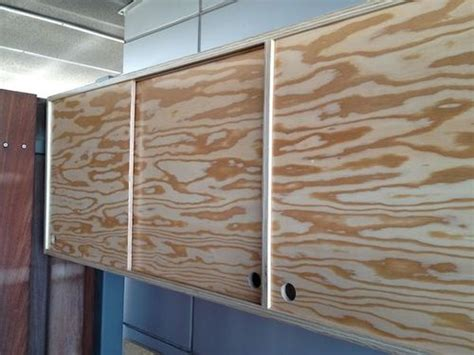 Plywood Cabinet Doors Plywood Cabinet With Sliding Door How To By Kal 13 Lumberjocks Woodworking Community