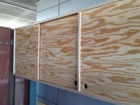 plywood cabinet  sliding door    kal