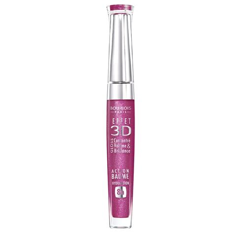 Lip Gloss Bourjois bourjois 3d effect lipgloss 23 framboise 5 7 ml 163 4 45