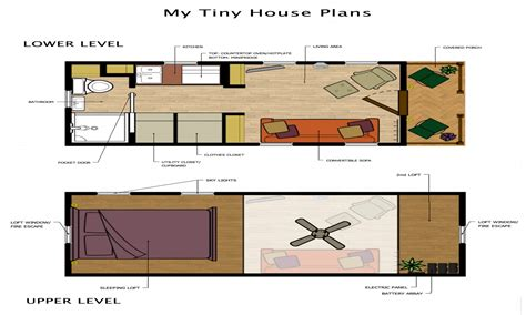 tiny plans tiny loft house floor plans tiny house plans with loft