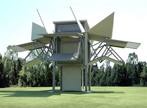 this folding mobile house builds itself in 10 minutes