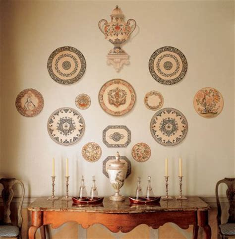 Wall Plate Decor by Decorative Plates Collage Beautiful Wall Decorating Ideas
