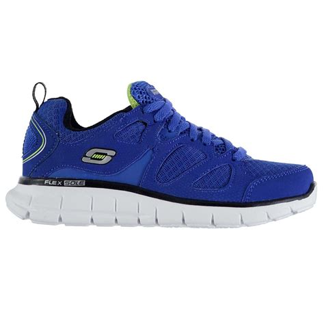 sporting goods running shoes skechers vim turbo boys runners trainers shoes