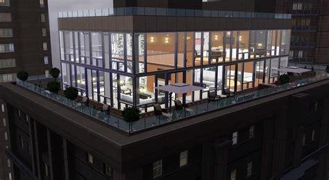 Row Homes by Mod The Sims Skyloft Penthouse No Cc