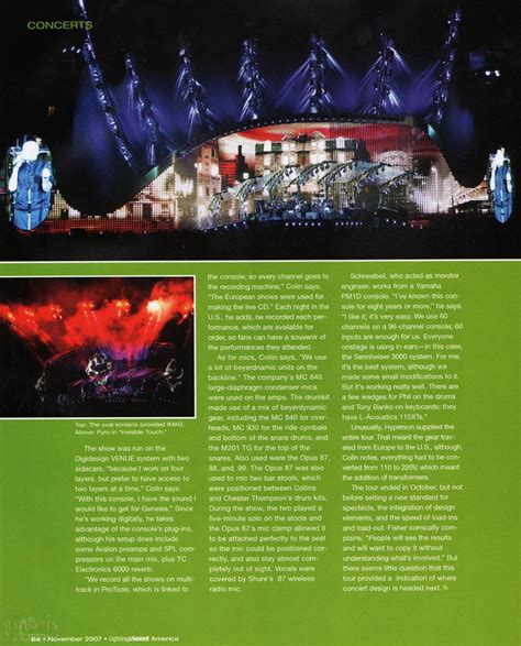Lighting And Sound America by Report Technical Lighting And Sound