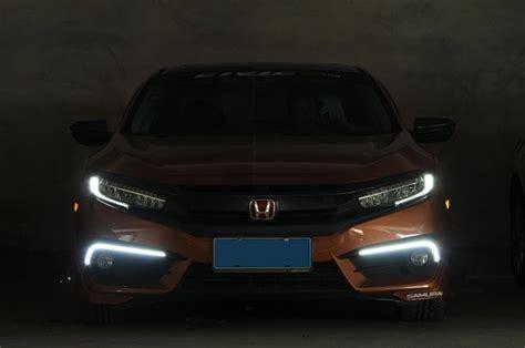 Drl Honda Crv 2015 2017 drl honda civic 2016 2017 bisel con led faro luz de dia 1 999 00 en mercado libre