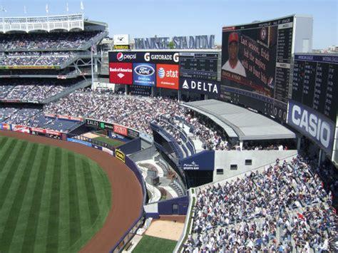 yankee stadium bleacher seats yankee stadium new york yankees ballpark ballparks of