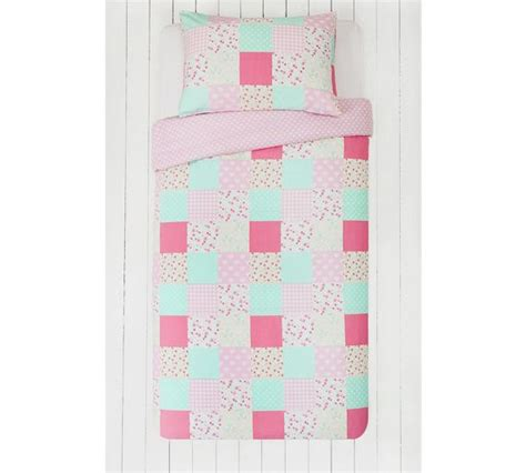 Argos Quilts by Buy Collection Patchwork Stripe Pack Bedding Set