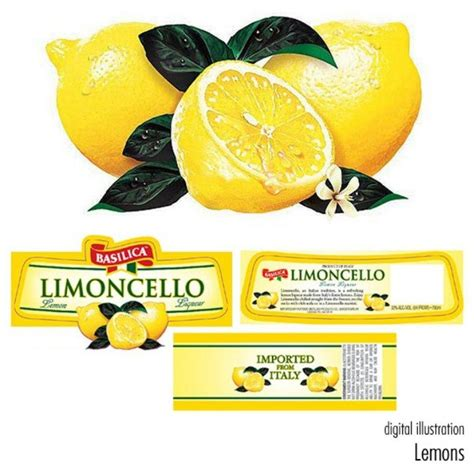 printable limoncello tags limoncello labels google search gifts pinterest
