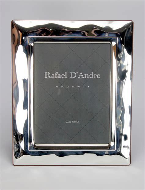 cornice argento battesimo cornice portafoto onda in argento di cristofalo