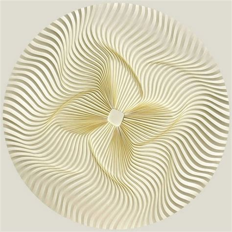 Paper Folding Designs - artist creates mesmerizing geometric patterns by folding
