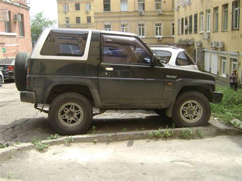 1992 daihatsu rocky 1992 daihatsu rocky pictures 1600cc gasoline automatic