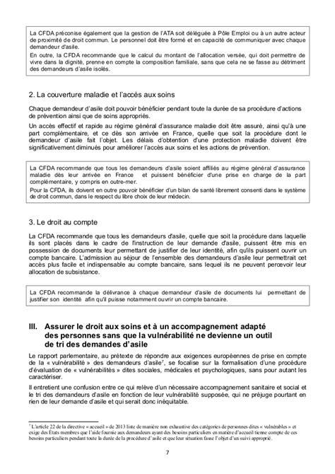 Recommandations de la Coordination française du droit d