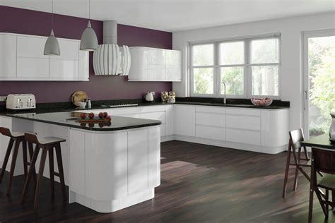 white gloss kitchen designs gemini white gloss handleless kitchen proline cabinets