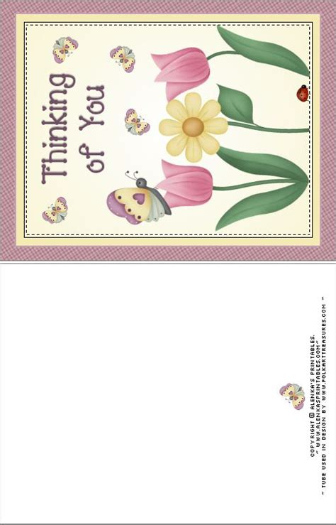 printable card thinking of you 1000 images about printable note paper and cards on