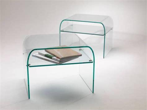 table de nuit en verre table de nuit en verre comodo piano