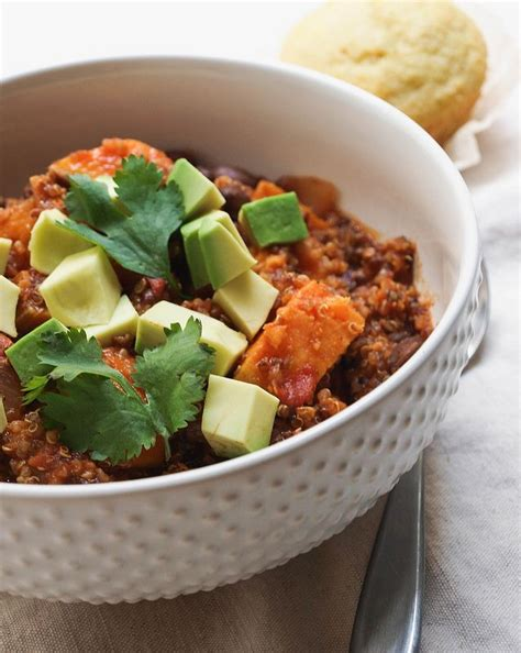 Chilli Keeper sweet potato quinoa chili this chili is so easy and