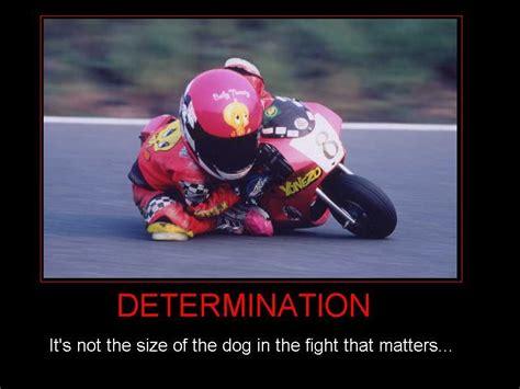 Motorrad Fahren Tricks by Determination Eye Poster Picture