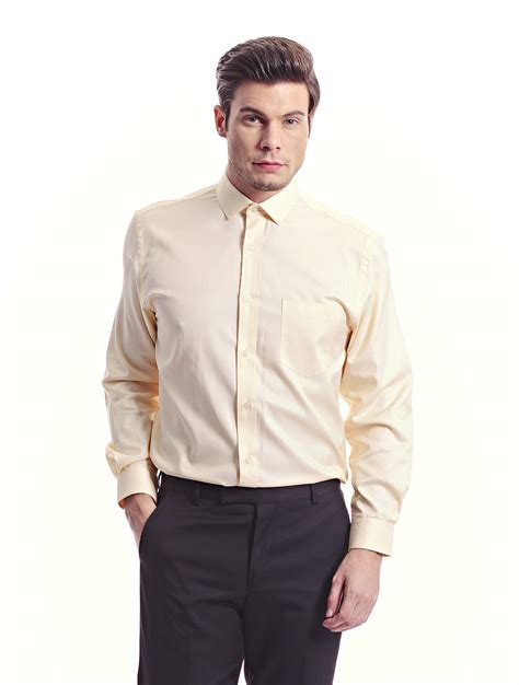 light yellow mens dress shirt light yellow sleeve yellow shirt jazz co clothing