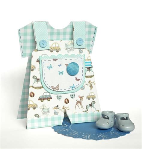 baby boy template card it s a boy baby dungaree card tutor the craft