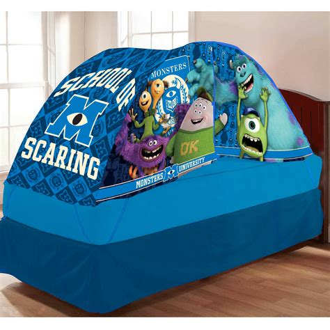 twin bed tent ikea monsters university bed tent with pushlight walmart com by