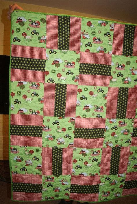 Crib Size Quilts by Deere Pieced Crib Size Quilt