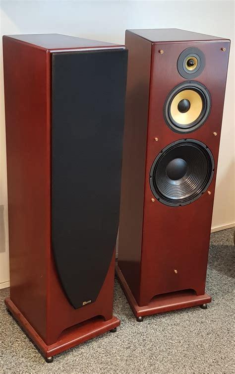 davis acoustics cesar vintage merisier teinte paire