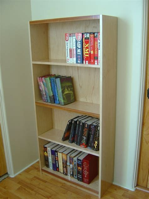 hiding dados   solid wood bookcase  wood whisperer