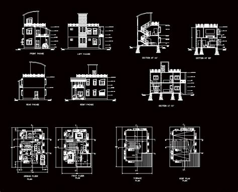 house plan dwg house plan 2d dwg plan for autocad designs cad