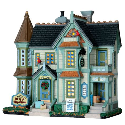 lemax christmas collection lemax collection building miss noelle s bed breakfast