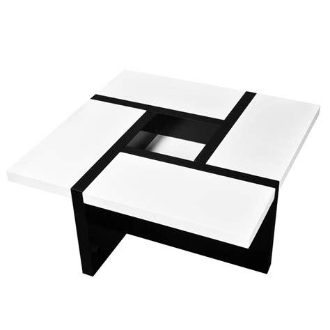 salontafel wit 3 vidaxl nl hoogglans salontafel wit zwart