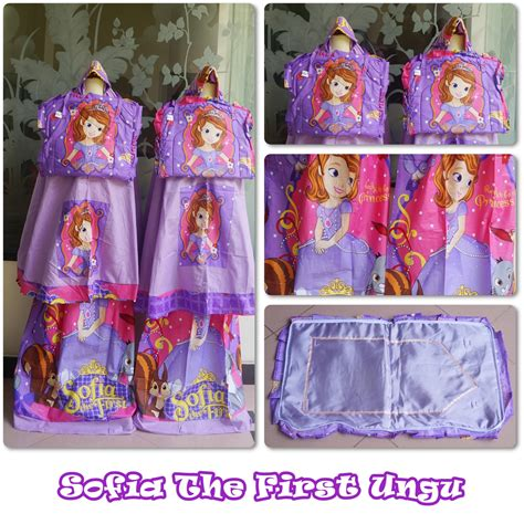 Mukena Hk Apple Ungu sofia the ungu m belimukena