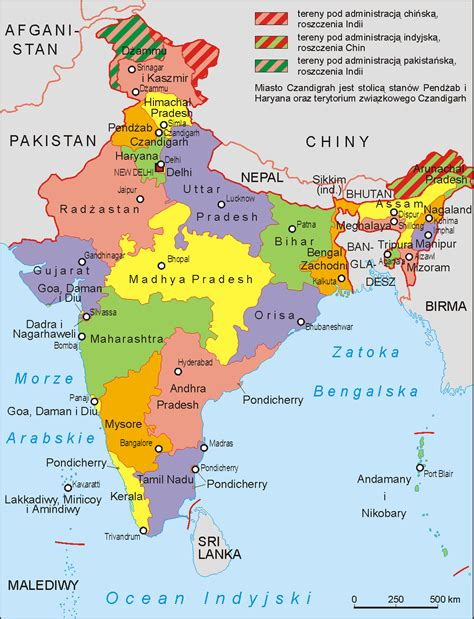 printable version of india map printable map of india