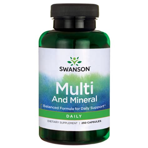 vitamins minerals at the lowest prices a1supplements daily multivitamin 1 pill only low price swanson