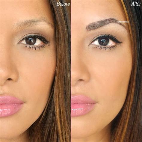 tattoo eyeliner and eyebrows say goodbye to your boring old brow pencils with semi