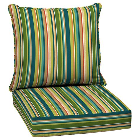striped patio cushions shop arden outdoor bloomery stripe seat patio chair