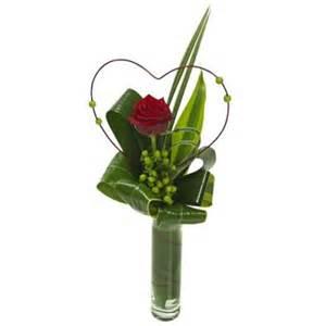 Single Rose Bud Vase Heaven Scent Flower Shop Portmarnock Single Red Rose In Vase