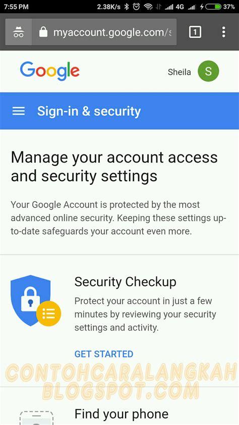 cara membuat akun gmail dari hp cara mengganti password akun google gmail dari hp