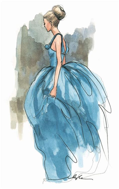 fashion illustration gouache best 25 watercolor fashion ideas on dress painting watercolor dress and dress