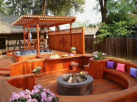 Small hot tub deck ideas home design ideas