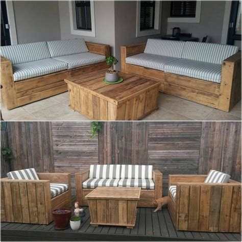 shipping pallet couch cool and easy shipping wood pallet projects recycled things