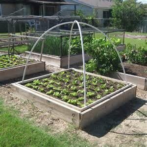 Diy Raised Bed Vegetable Garden - 9 diy covered raised garden beds to make gardenoholic