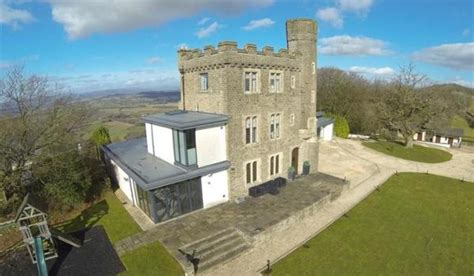 Grand Designs hilltop castle in Newport up for sale   Zoopla